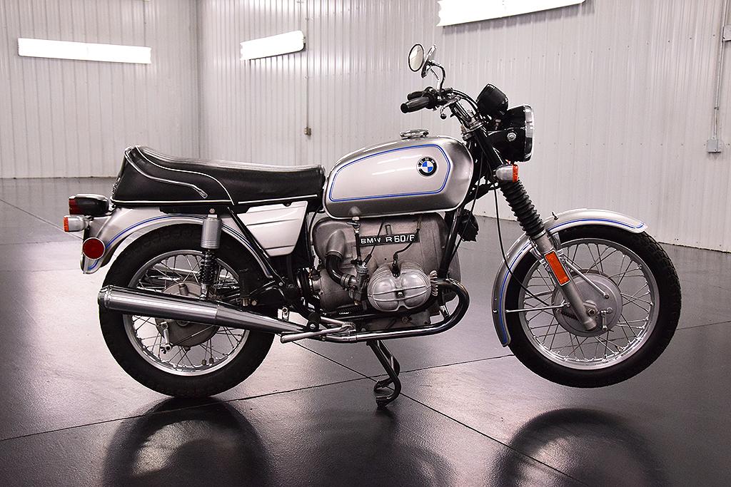 BMW R60-6 Silver