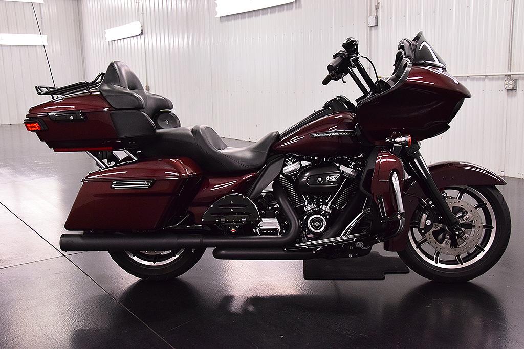 Burgandy 107cc Harley Davidson Touring